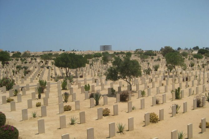 Day trip to El Alamein World War II Cemetery from Giza