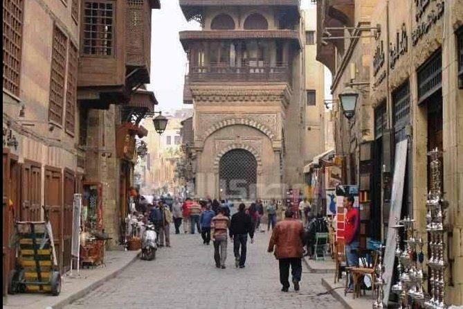 Half Day Tour: El Moez Street, Old Mosques Al Azhar Park and Khan EL Khalili Bazaar