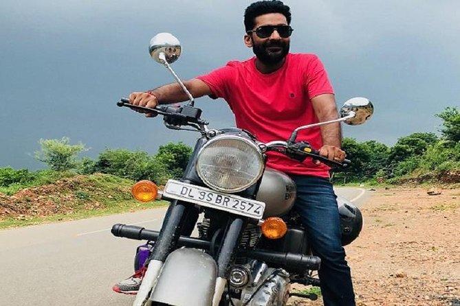 Jaipur - Sambhar Lake Motorcycle adventure