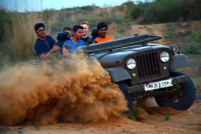 Jeep Safari to Kanota Lake from Jaipur
