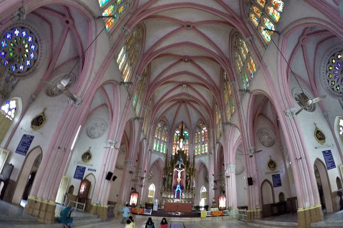 Basilica Of Our Lady Of Lourdes, Poondi From Trichy