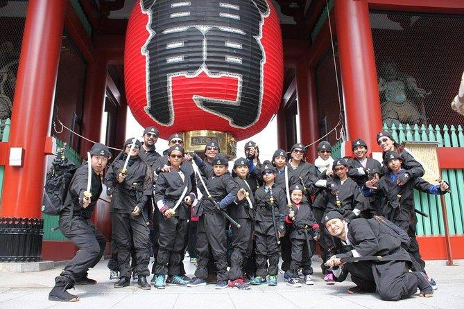 Excursión de medio día a Asakusa con experiencia Ninja