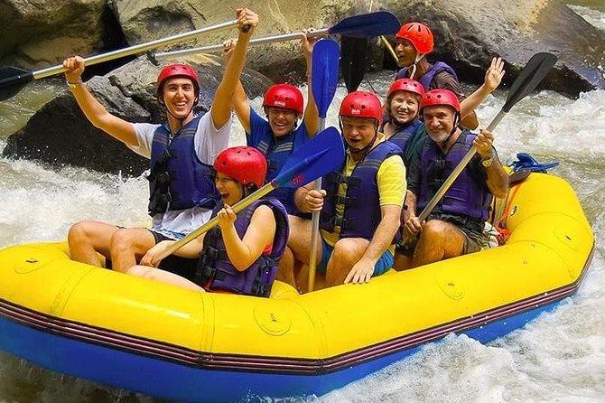 Private Day Trip Enjoy Ayung River Tubing-Bali's Beautiful Gunung Kawi Temple