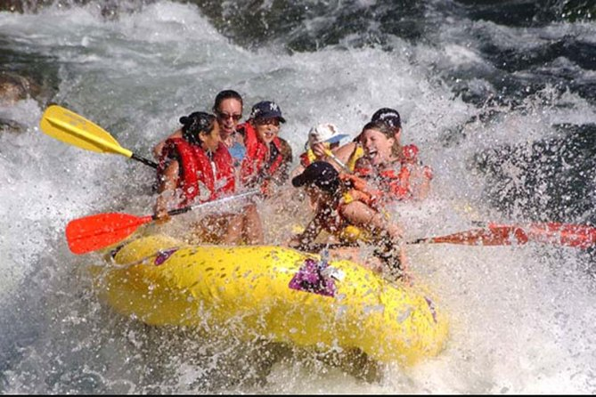 Private Day Trip Enjoy Ayung River Tubing-Bali's Beautiful Tegenungan Waterfall