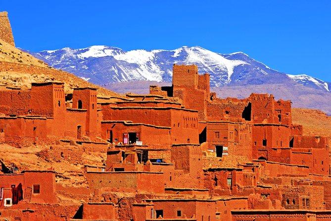 Gita giornaliera privata a Ouarzazat e Ait Ben Haddou sulla 1001 Kasbah Road.