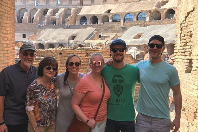 Skip-the-line Colosseum and Roman Forum Small Group Tour with Local Guide