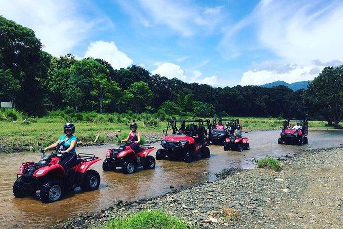 Jungle & River ATV Exploration. Private Tour from San Jose