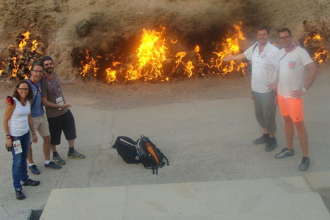 Yanar Dag Burning Mountain Admission Ticket