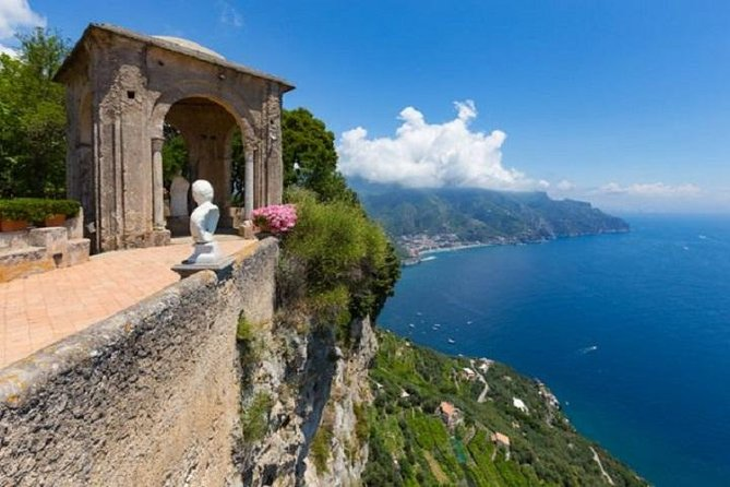 Villa Cimbrone in Ravello and Pompei