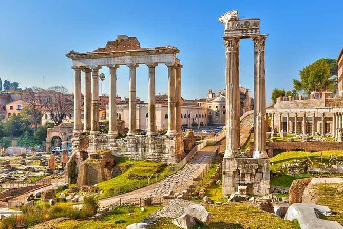 Colosseum, Forum & Palatino with pickup
