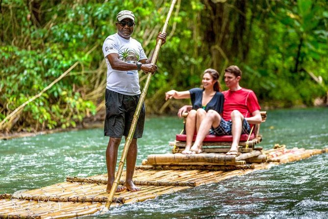 Authentic Jamaican Bamboo Rafting Tour from Falmouth photo 1