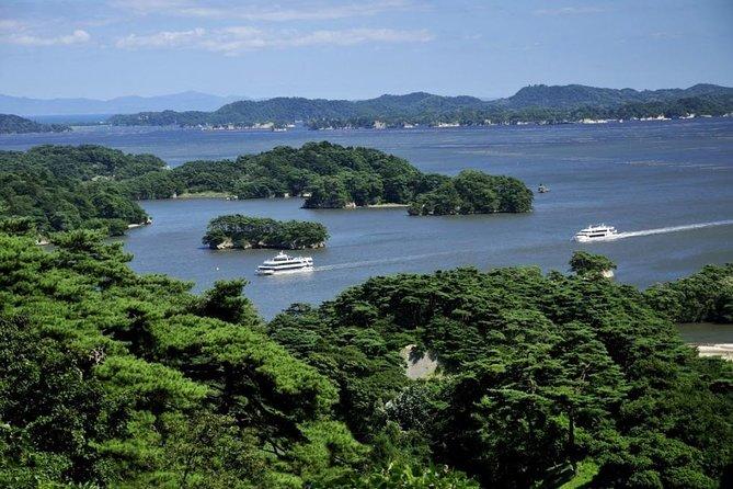 Fulldags historisk cykeltur i Matsushima