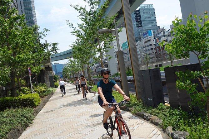 Excursão de bicicleta em Tokyo para grupos pequenos