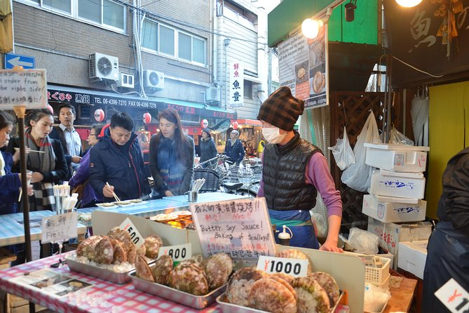 Osaka Market Food Tour