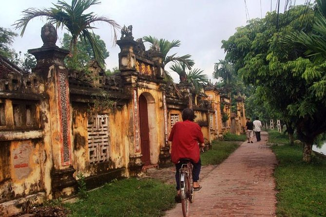 Full Day Nom Ancient Village - Bat Trang Pottery Village Private Tour From Hanoi