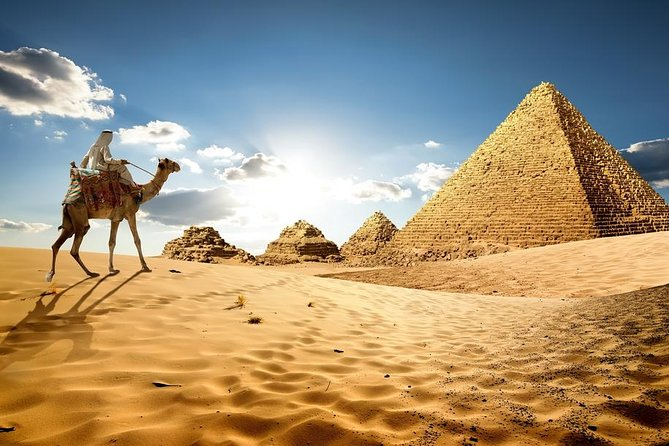 Full Day Tour To Giza Pyramids, Memphis and Saqqara