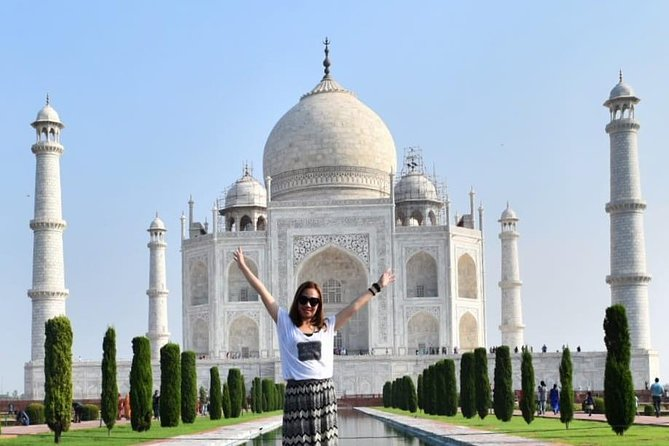 Agra Taj Mahal Tour with lunch