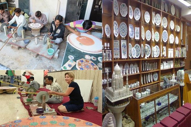 Prime Shopping Tour In Agra Including Marble Inlay Factory Visit Download Free Architecture Designs Scobabritishbridgeorg