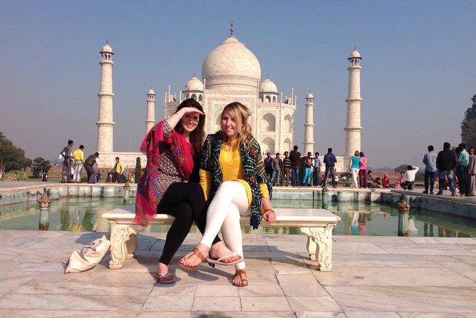 1-Day Taj Mahal and Agra Tour by Fastest Train