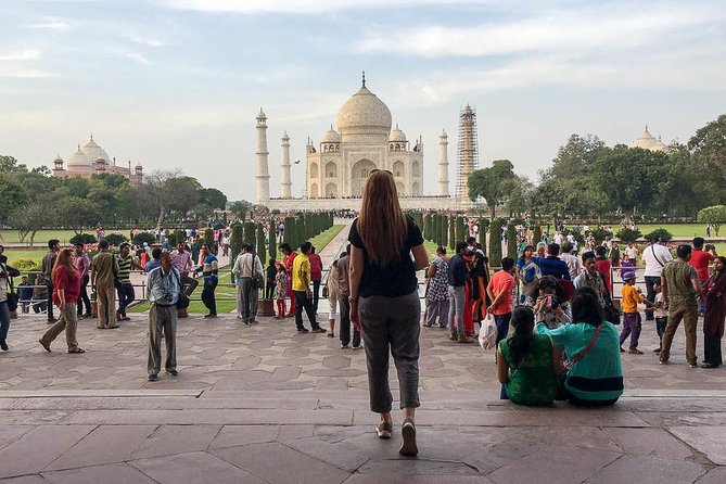 Private Tour: Taj Mahal Day Tour from Delhi