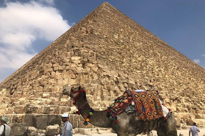 Giza pyramids sphinx and light show from Cairo Giza hotel with expert guide photo 4