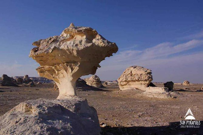 Private Day Trip to White Desert and Bahariya Oasis from Cairo with Lunch