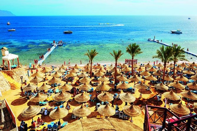 Utilisation de jour de la mer Rouge à Ain Sokhna au Caire