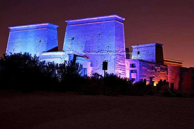 Sound and Light Show at Philae Temple Aswan