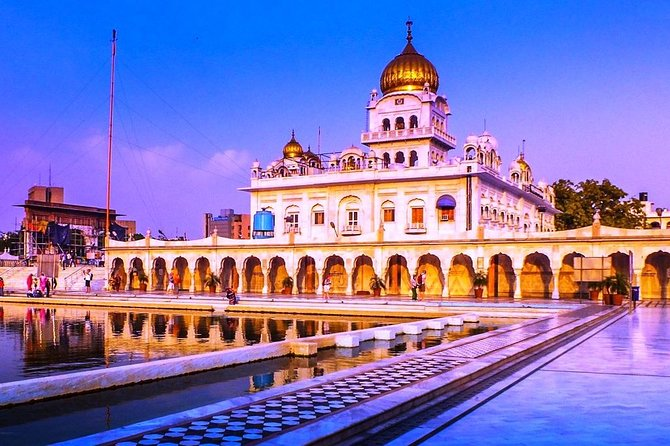 Private DayTrip Mughals Old Delhi & Lutyens New Delhi with Bangla Shahib Tours