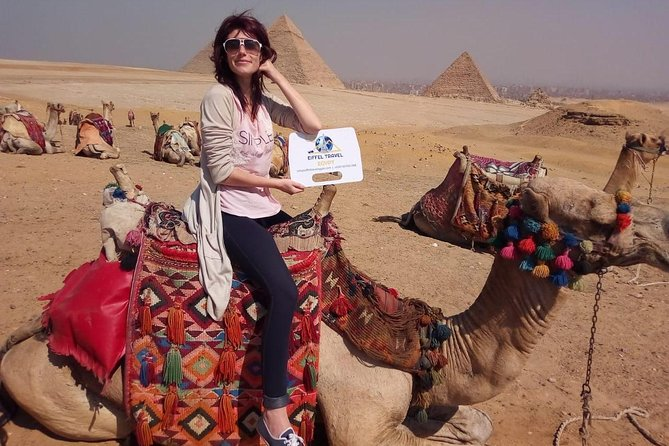 Private Pyramids Tour including Giza Plateau ,Sphinx, Saqqara, and Memphis