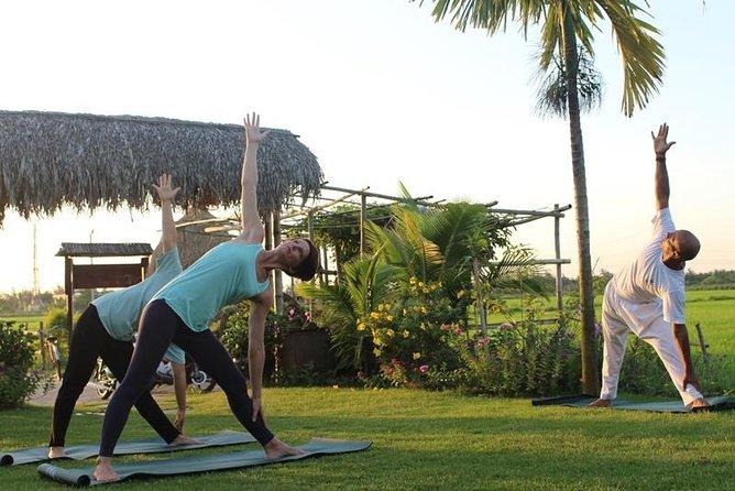 Half Day Salute The Sun, Hoi An Sunrise or Sunset Yoga (Private tour)