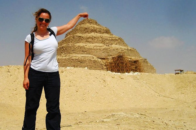 Sakkara Pyramids, Dahshur Pyramids, Giza Pyramids and Sphinx Included Camel Ride
