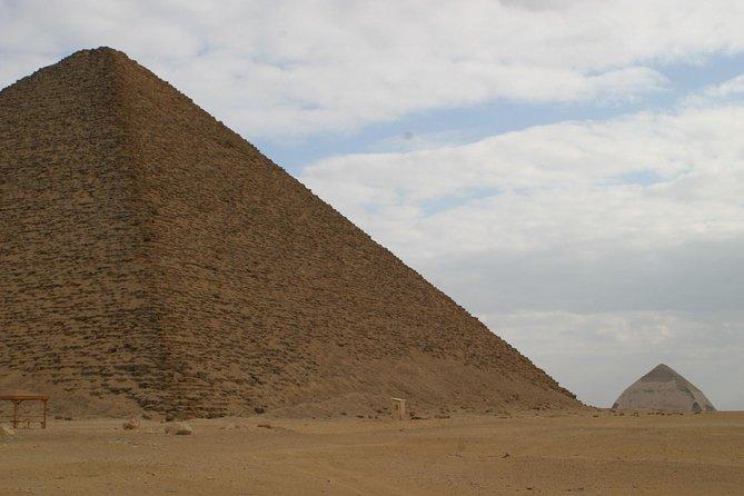 Full Day Tour To Sakkara, Dahshur and Giza pyramids Including Lunch