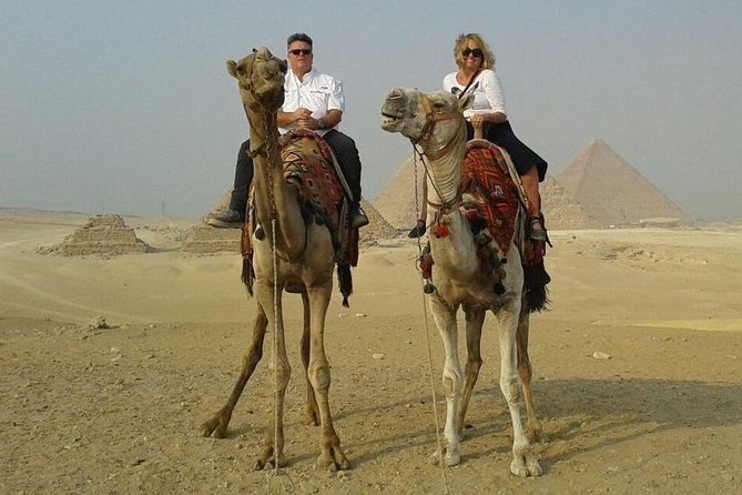 Full Day Tour To Giza pyramids,Sakkara pyramids&Memphis,Include Camel ride&Lunch