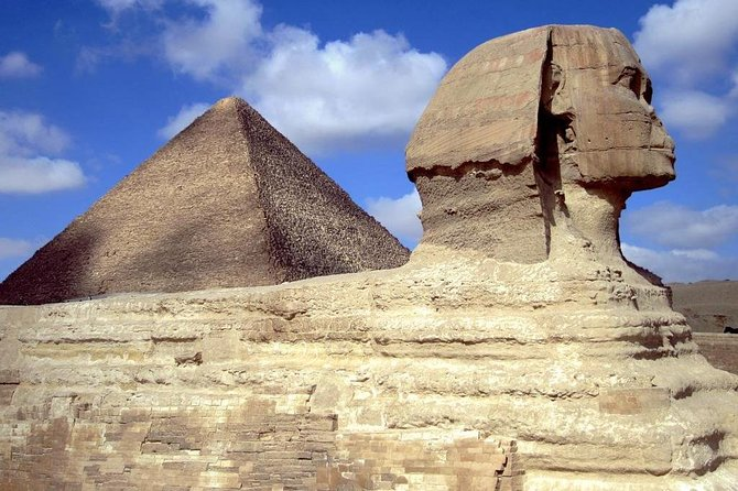 Private Full Day Tour to Giza Pyramids, Sphinx & Valley Temple Included ATV Ride