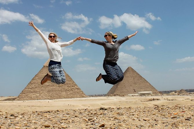 Giza Pyramids, Sphinx and The Valley Temple Private Guided Tour
