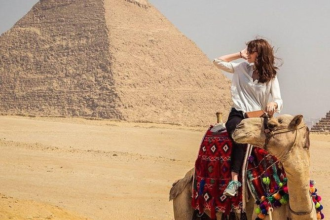 Private Full Day Tour To Giza Pyramids, Sakkara and Memphis included Camel Rid