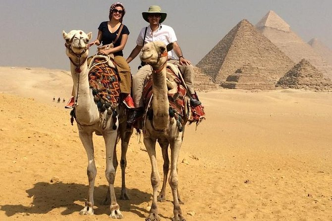 Full Day Tour To Giza pyramids & Sakkara pyramids, Include Camel ride & Lunch photo 1