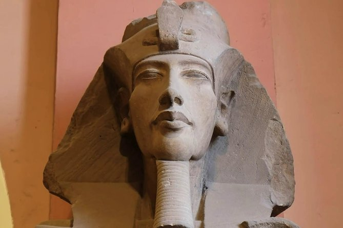 Day tour to Giza pyramids, Sphinx, Camel ride and The Egyptian museum