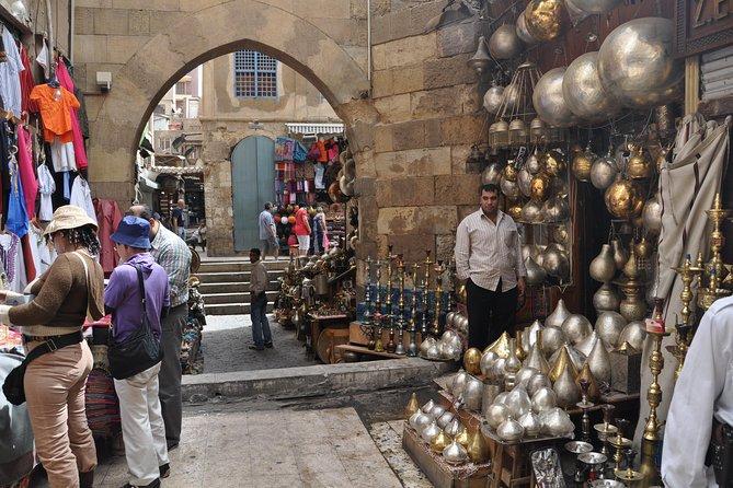 Coptic Cairo, Islamic Cairo and Khan el Khalili Bazaar Private Day Tour