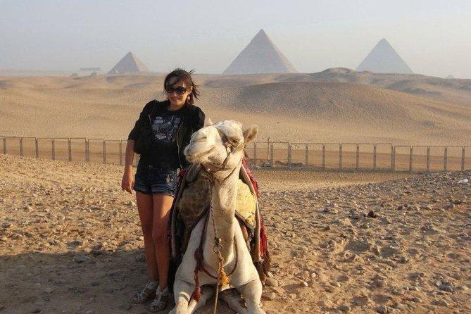 Camel Ride Sunrise around the Giza Pyramids Desert