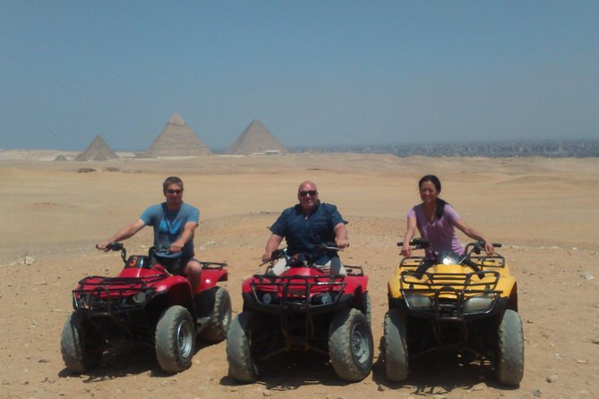 Private Quad Bike Ride Around Giza Pyramids Desert Safari Trip photo 1