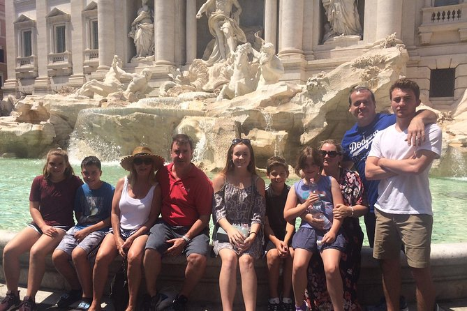 Rome Highlights Private Tour for Kids & Families w Trevi Pantheon & hotel pickup