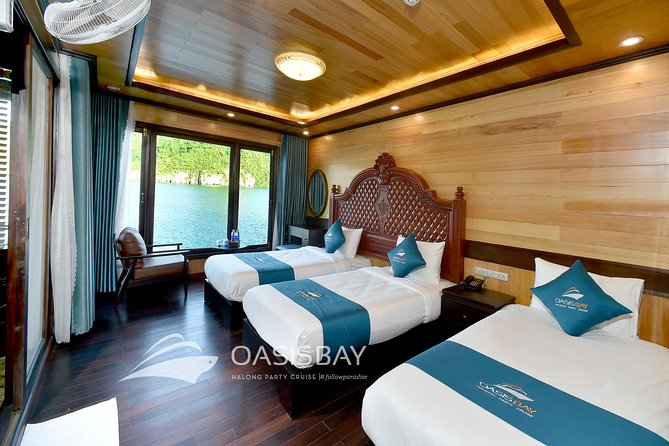 Private Island Relaxing On Halong Bay ( 1 night on cruise + 1 night in island)