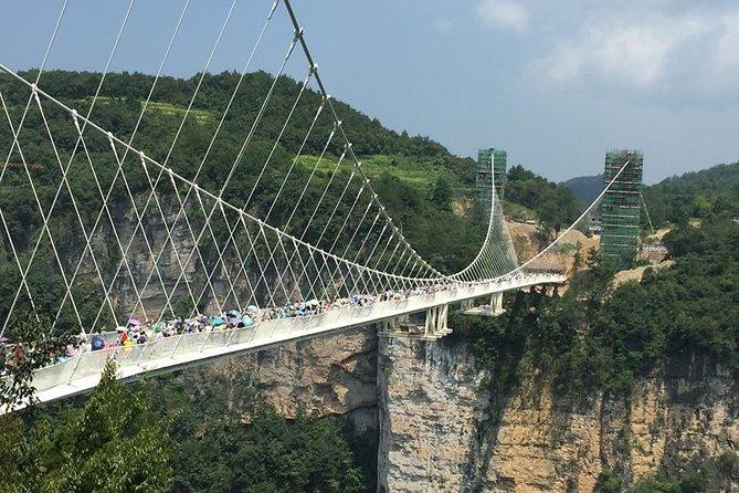 Day Tour - Zhangjiajie Grand Canyon and Glass Bridge