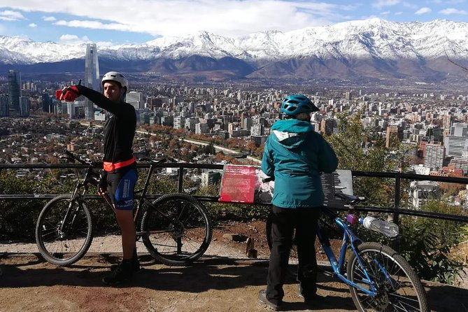 Private Bike Tour: San Cristobal Hill and Modern Santiago photo 2