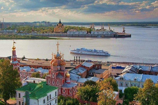 Nizhny Novgorod Highlights: Private City tour and Scenic River Boat Trip