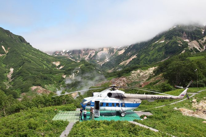Amazing Kamchatka - Highlights of Geyser Valley Private Tour by Helicopter