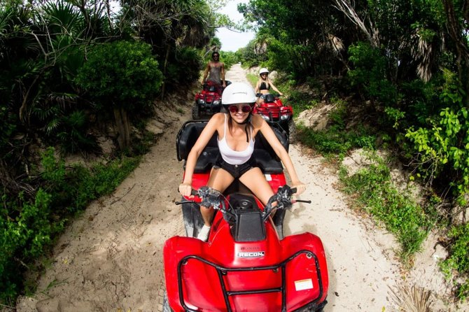 Cozumel City Tour by ATV with Snorkeling