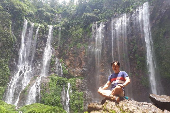 Coban sewu waterfall (above view)